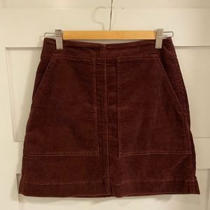 Uniqlo Corduroy Skirt Size 4